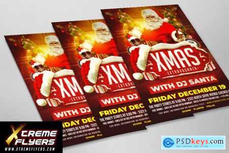 Christmas Party Flyer 4360087
