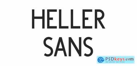 Heller Sans JNL Complete Family