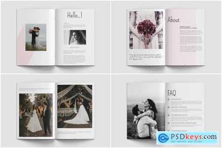 Wedding Magazine Template 4402869