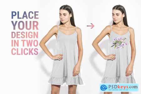 Womans Fashion Mockup Bundle 3349918