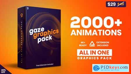 VideoHive Gaze Graphics Pack 2603109