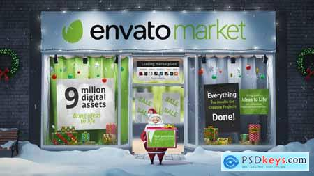 VideoHive Santa Christmas Magic 5 25049484