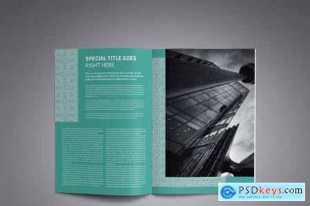 Corporate Business Brochure Template 4122459