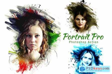 Portrait Pro Photoshop Action 4198792