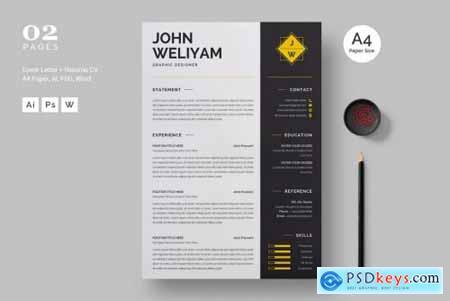 Modern Resume - CV Template710