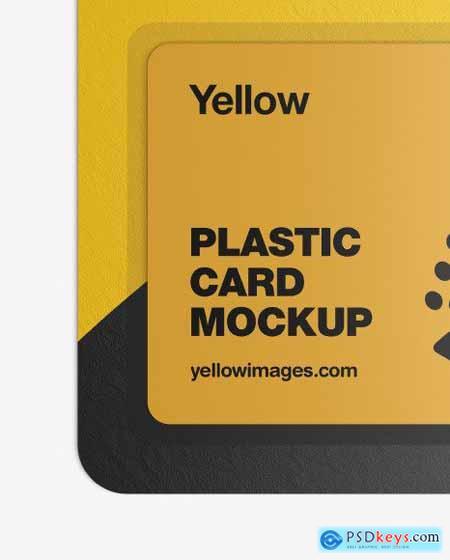Plastic Card in Paper Blister Pack Mockup 51491