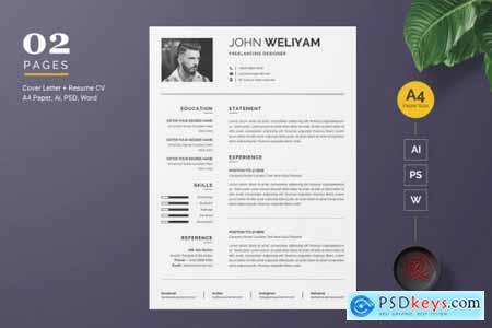 Modern Resume - CV Template