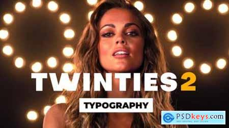 Videohive Twinties 2 opener Typography 25284702