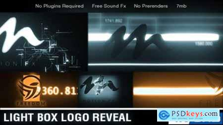 Videohive Light Box Logo Reveal 21189823