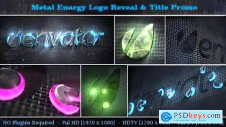 Videohive Metal Energy Logo Reveal & Title Promo 5415270