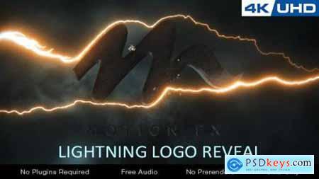 Videohive Lightning Logo Reveal 21374821