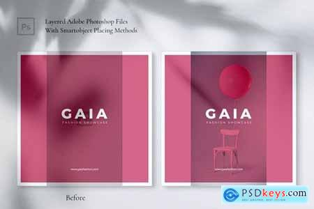 GAIA Fashion Store Instagram & Facebook Post