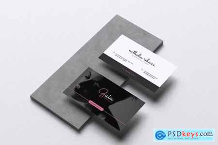 GAIA Fashion Show Event Flyer & Business Card