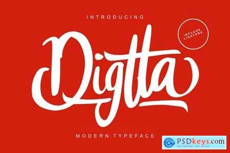 Digtta Modern TypeFace