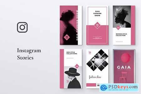 GAIA Fashion Store Instagram Stories
