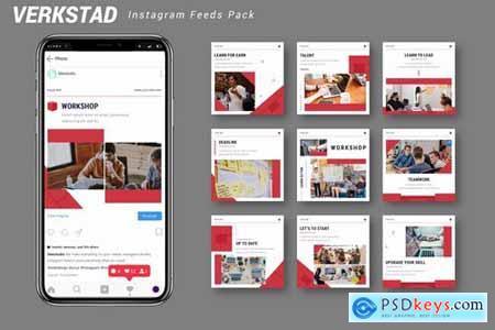 Verkstad - Instagram Feeds Pack