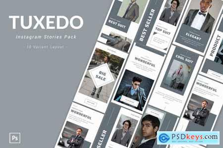 Tuxedo - Instagram Story Pack