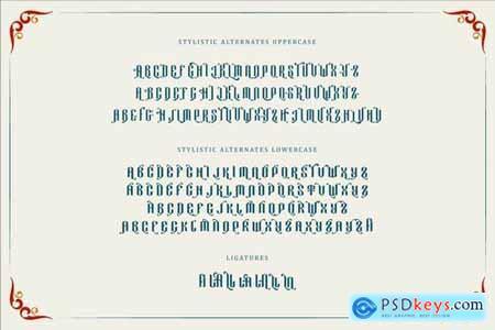 Yellost Font