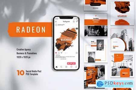 RADEON Creative Agency Instagram & Facebook Post