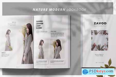 ZAVOD Business Magazine Minimal Template
