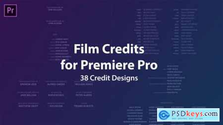 Videohive Film Credits Kit 21742664