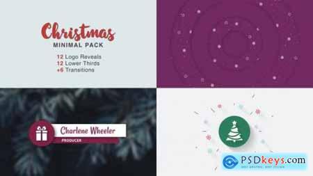 Videohive Christmas Minimal Pack 25272421