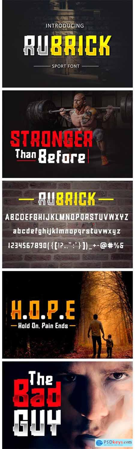 Rubrick Font
