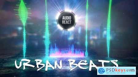 Videohive Urban Beats Audio React 23616210