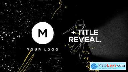 Videohive Logo & Title Reveal Scribble Grunge 25342864