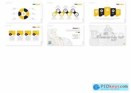 Bingo - Powerpoint Google Slides and Keynote Templates