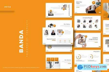 Banda - Powerpoint Google Slides and Keynote Templates