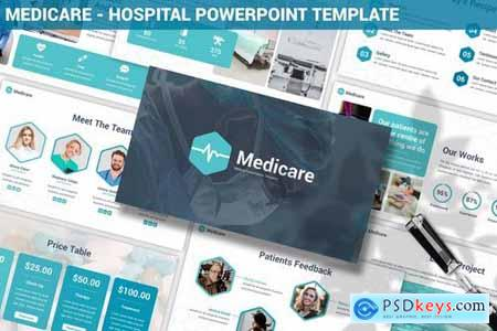 Medicare Hospital Powerpoint Template Free Download