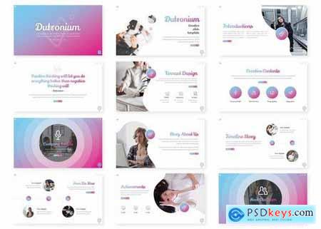 Dutronium - Powerpoint Google Slides and Keynote Templates