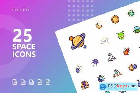 Space Icons Pack