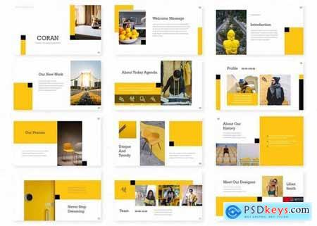 Coran - Powerpoint Google Slides and Keynote Templates