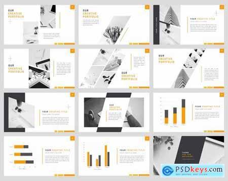 Ray - Stylish Powerpoint Google Slides and Keynote Templates
