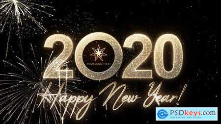 Videohive Modern New Year Countdown Clock 2020 23057493