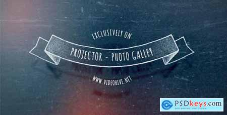 Videohive Slide Projector Photo Gallery 8933575