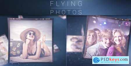 Videohive Flying Photos Photo Gallery 8293860