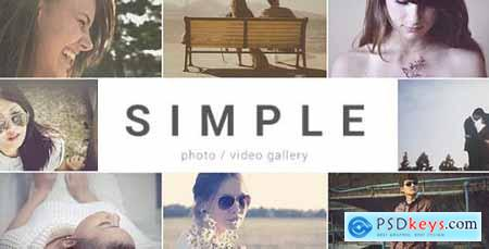 Videohive SIMPLE Parallax Photo Gallery 10030329