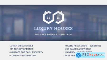 Videohive Luxury Houses Real Estate Presentation 15479811