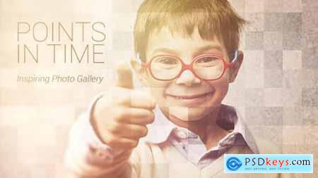 Videohive Points In Time Inspirational Photo Gallery 9019611