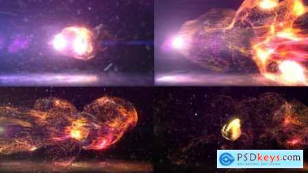 Videohive Dynamic Particles Logo Reveal 25285268