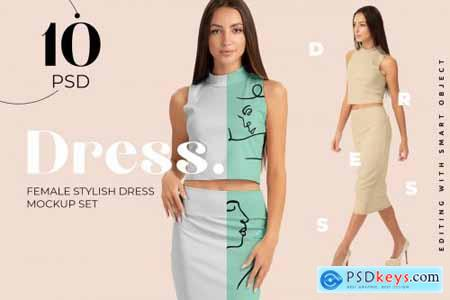 Female Dress Mockups 4392041
