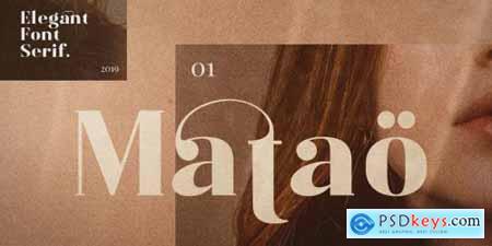 Matao Serif Complete Family