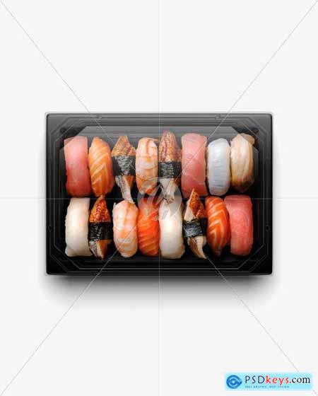 Sushi Set Mockup 51397
