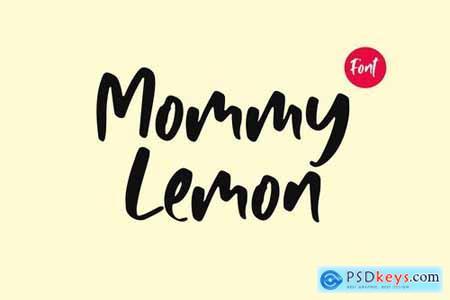 Mommy Lemon - Fun Typeface 4407471