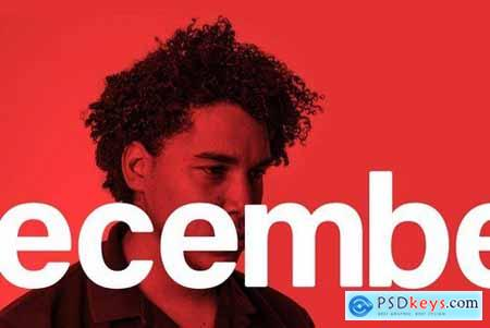 December - Modern Typeface 4413443