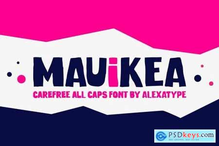 MAUIKEA - Carefree Bold and Fun Display Font