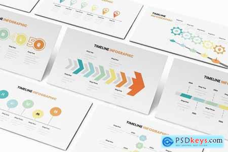 Timeline Infographic Powerpoint Google Slides and Keynote Templates